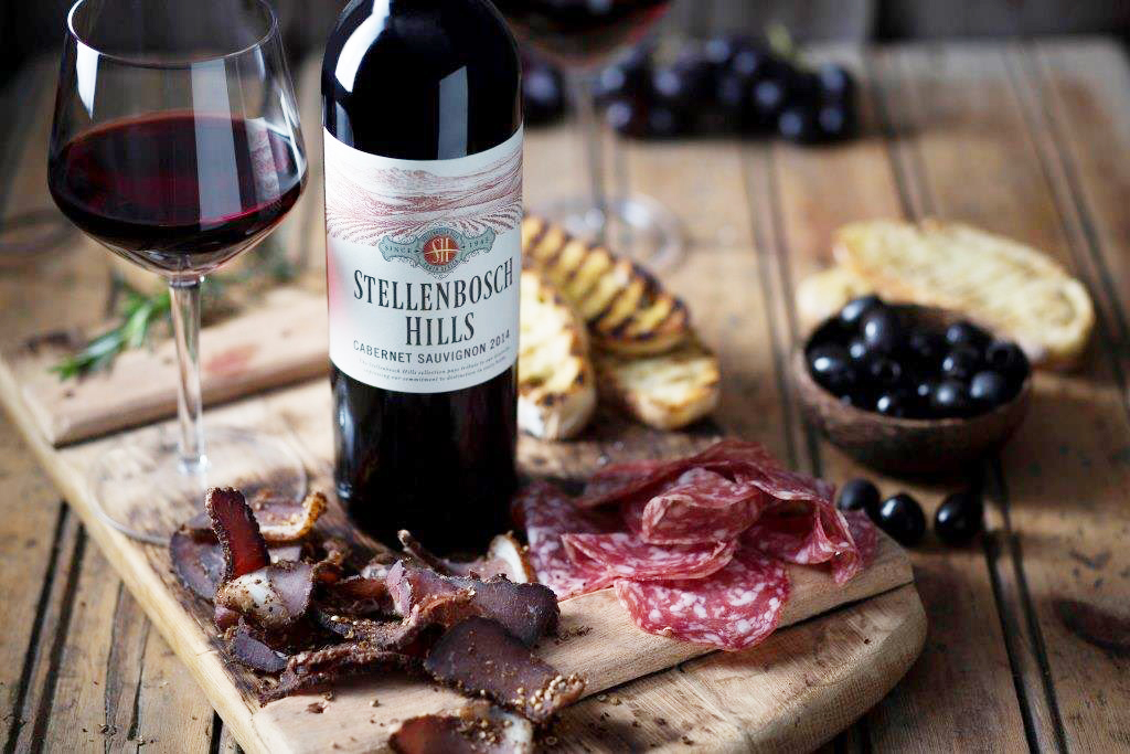 Biltong and Wine Tasting at Stellenbosch Hills photo