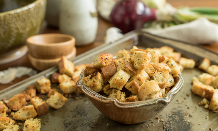 3 Croutons recipes to upgrade your soups and salads photo