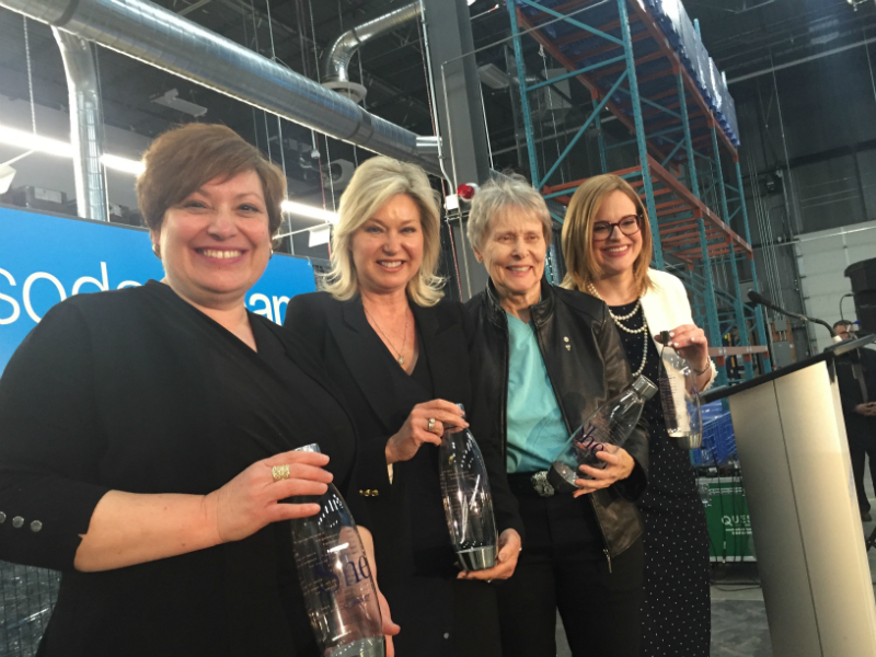 Sodastream Opens Plant In Mississauga photo
