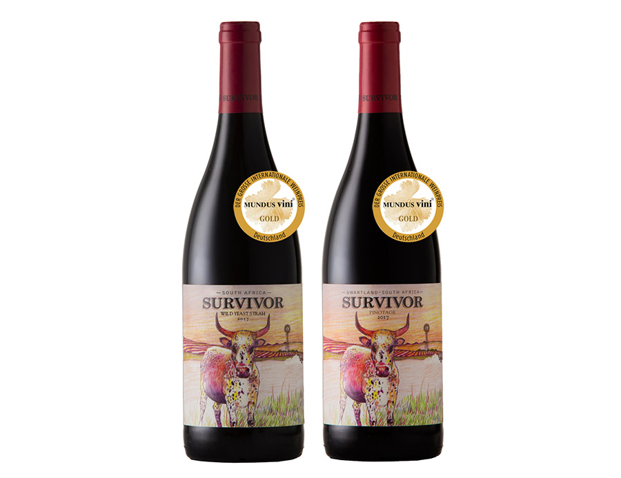 Survivor Gold Rush At International Wine Competition photo