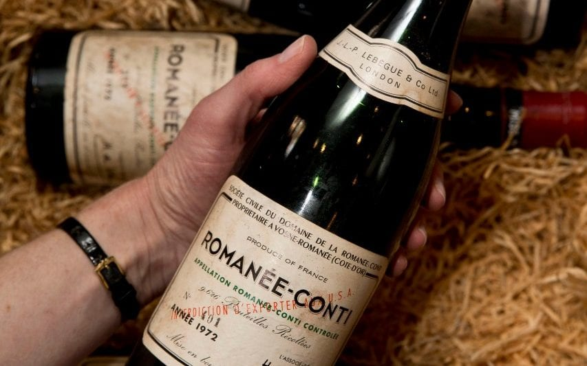 Collection Of 16,889 Bottles Of Wine Sets World Sales Record Of £23 Million At Sotheby's Hong Kong Auction photo