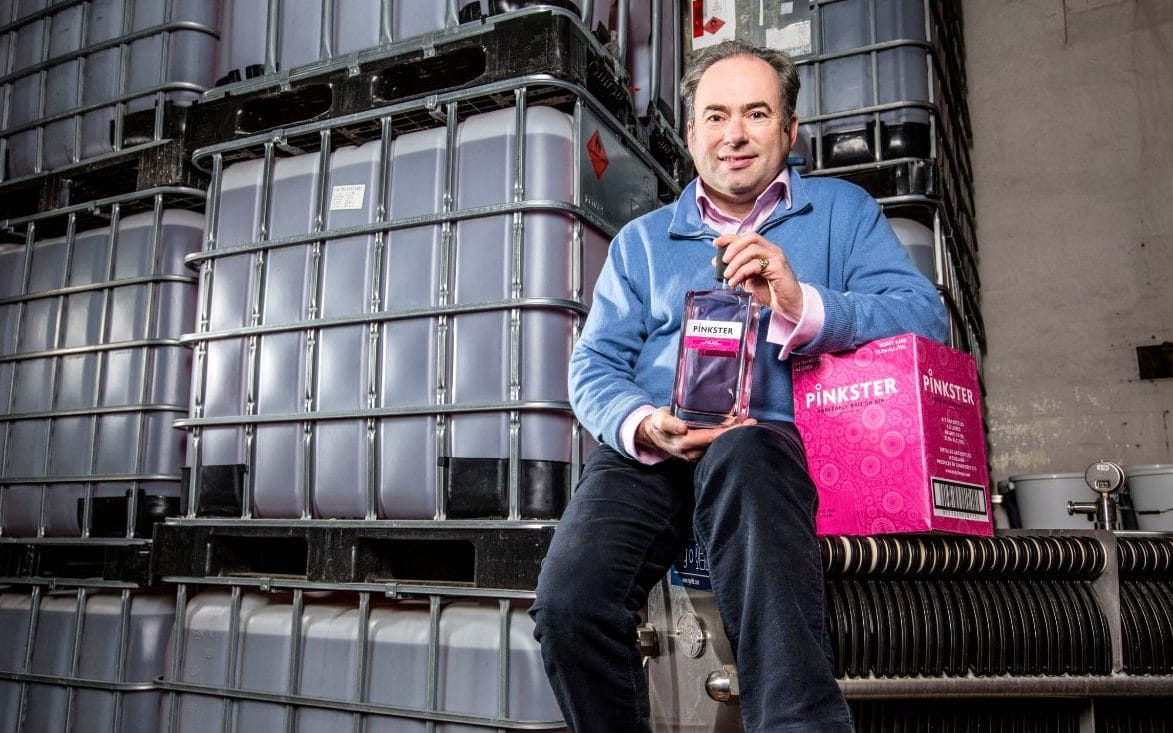 Home Brewer In The Pink After Taking His Drink To Market photo