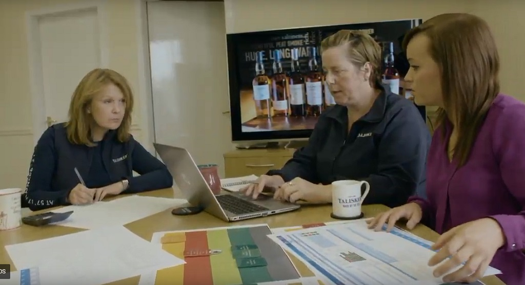 The All-female Management Team At Talisker Distillery photo