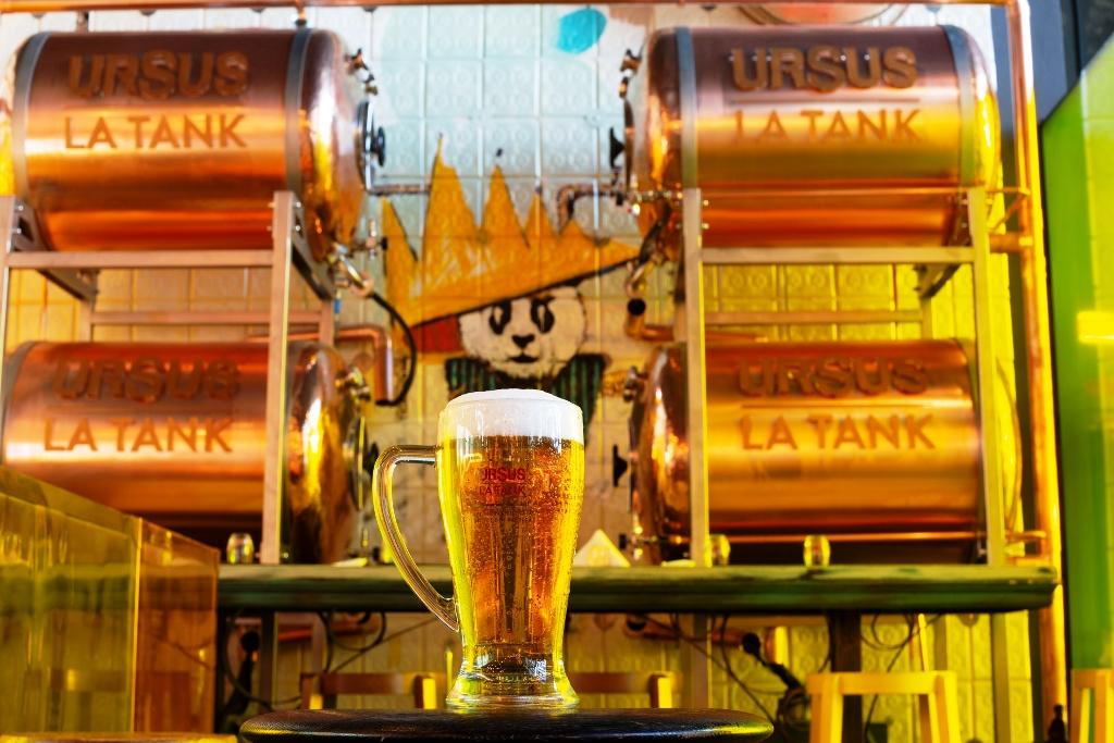 Ursus Launches Ursus Tank, Un-pasteurized Draft Beer For Horeca photo