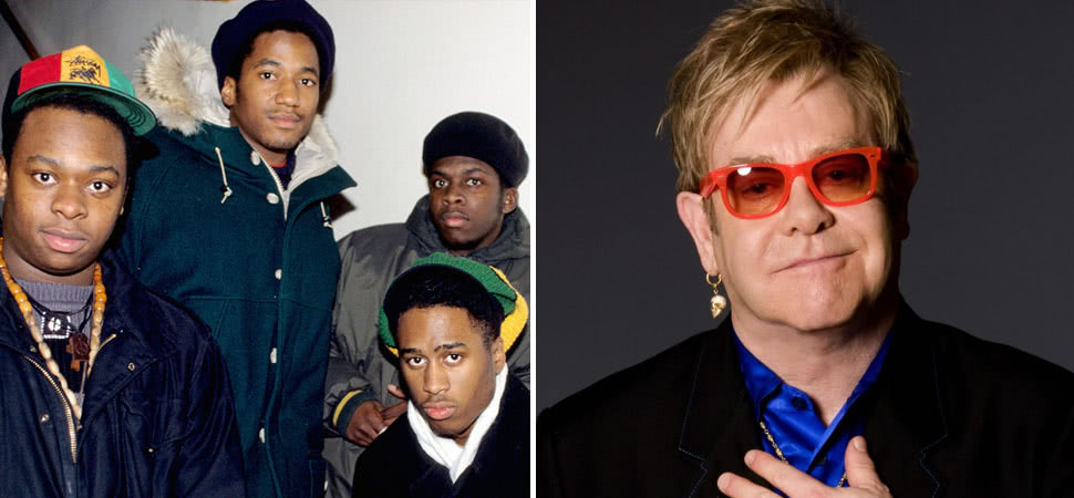 Turns Out That Elton John Is A Huge Fan Of A Tribe Called Quest photo