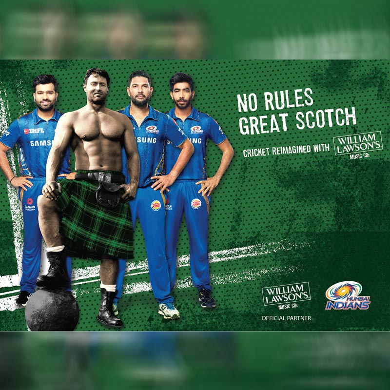 Mumbai Indians Announce William Lawson?s By Bacardi India Their photo