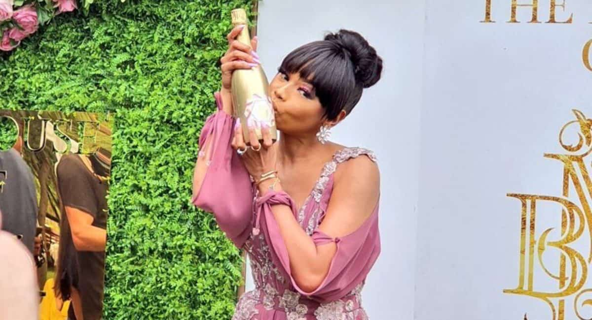 Bonang Matheba Launches The House Of BNG Methode Cap Classique photo
