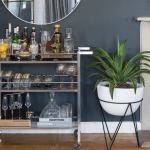 8 Artistic Ideas To Make Your Mini Home Bar Fit In Your Home Spaces photo