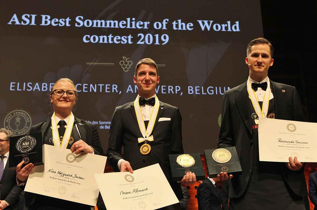 Meet The World's Best Sommelier 2019: Marc Almert photo