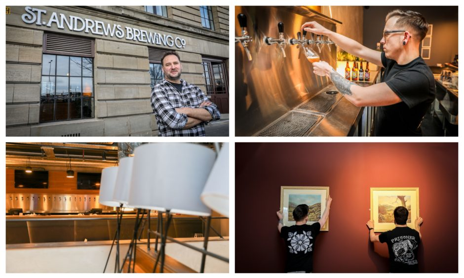 Pictures: First Look Inside Craft Brewery's Huge Pub And Restaurant In Former Dundee City Arcade photo
