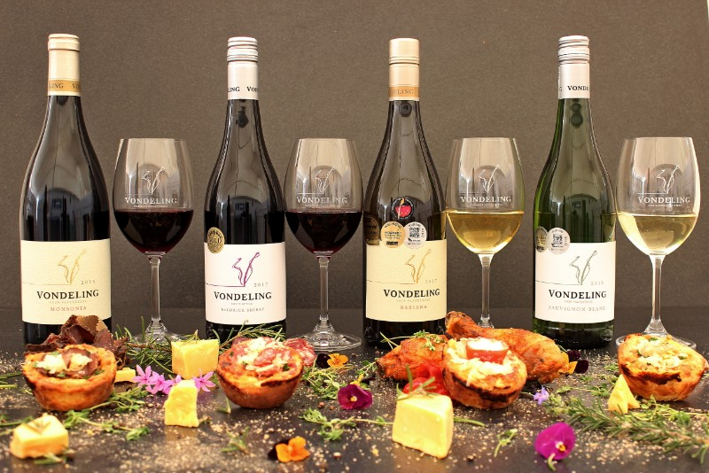 Savoury Cheesecake and Wine Pairing at Vondeling Wines photo