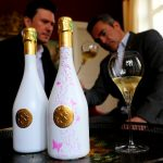 This Champagne Bottle Changes Colour When Chilled photo