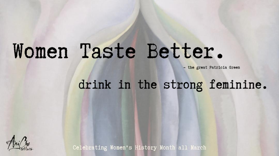 Women Taste Better With Aniche Cellars photo