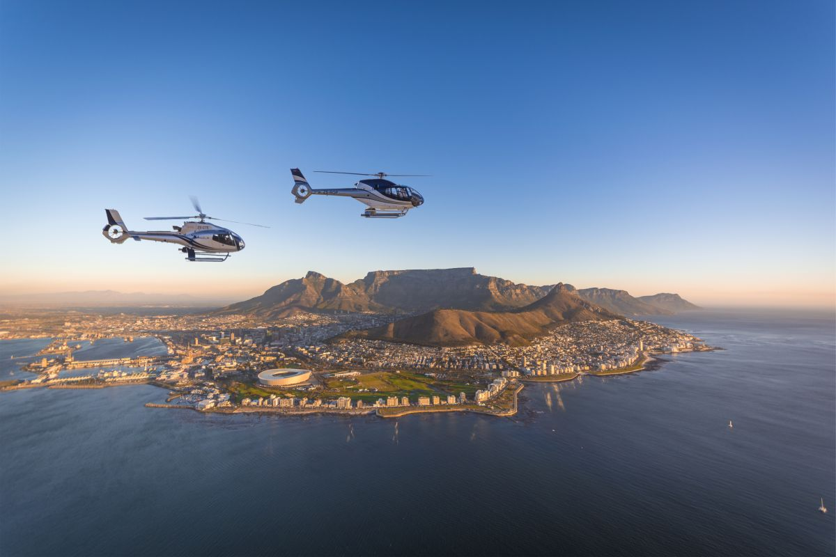 With Cape Town?s Premiere Luxury Tour, You Can Take A Chopper To Your Very Own Gin Picnic photo