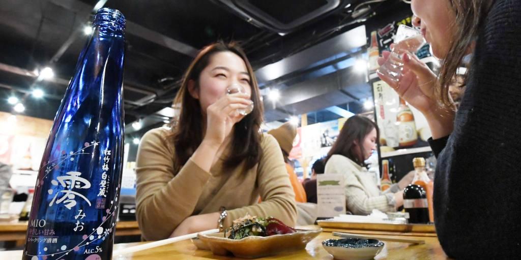 Bubbly Beverage Shoots Takara To Top Spot In Japan's Sake Market photo