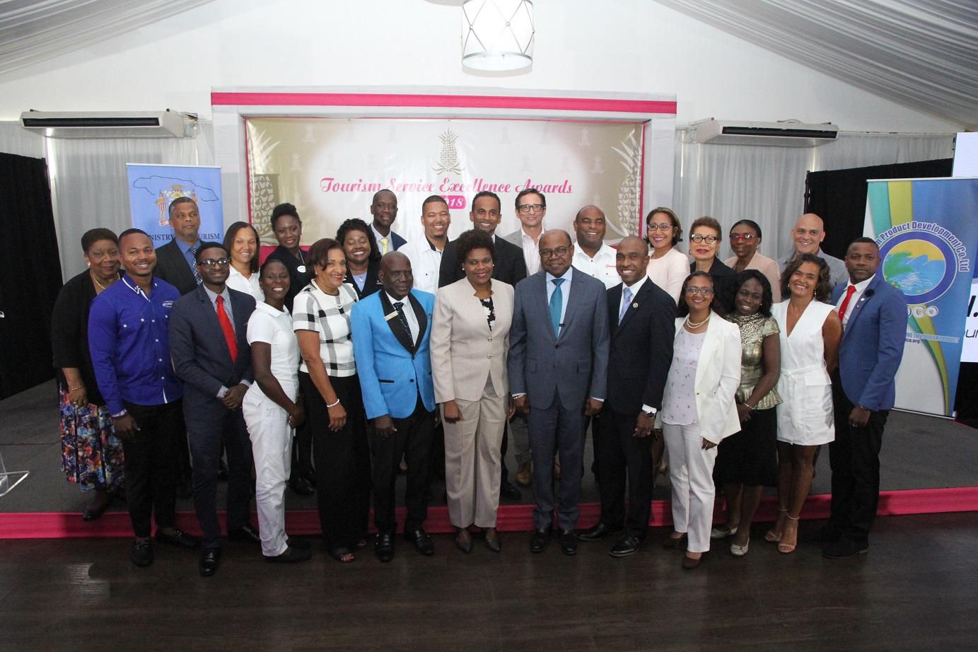 Jamaica Tourism Minister Lauds Tourism Service Excellence Finalists photo