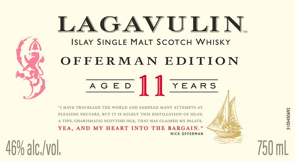Lagavulin Offerman Edition 11 Year Old Revealed photo