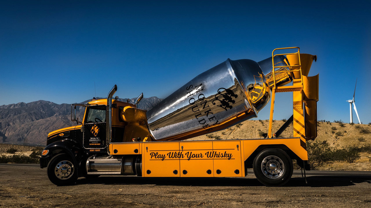 Giant Cocktail-mixing Truck Serves Up Whiskey Drinks Around Orlando photo