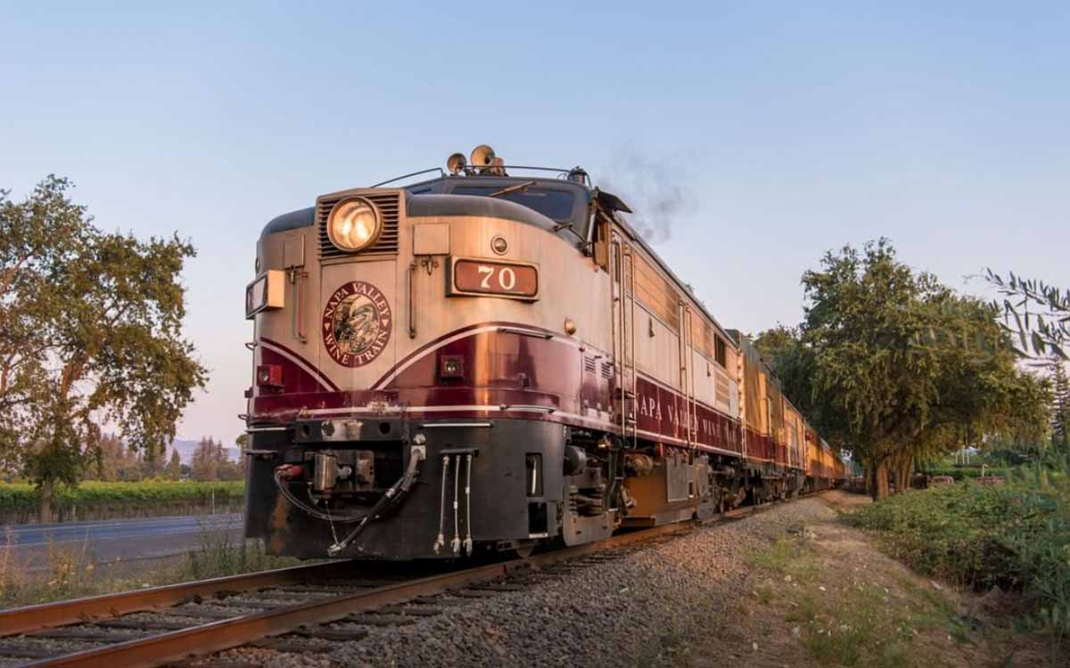 Solve a Murder Mystery On Board A Wine Tasting Train Through Napa Valley photo