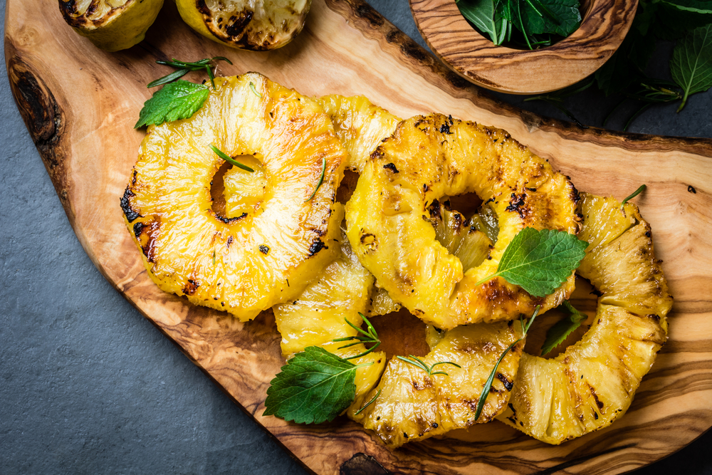 Pina Colada Grilled Pineapple Dessert photo