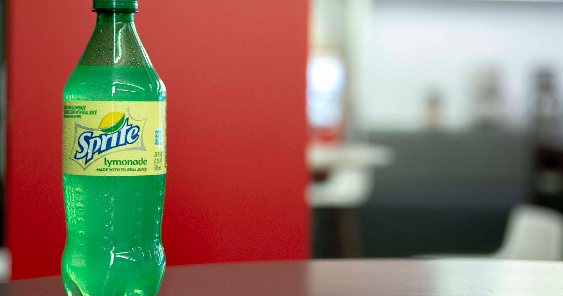 Sprite ?adds A Subtle Splash Of Lemonade? photo