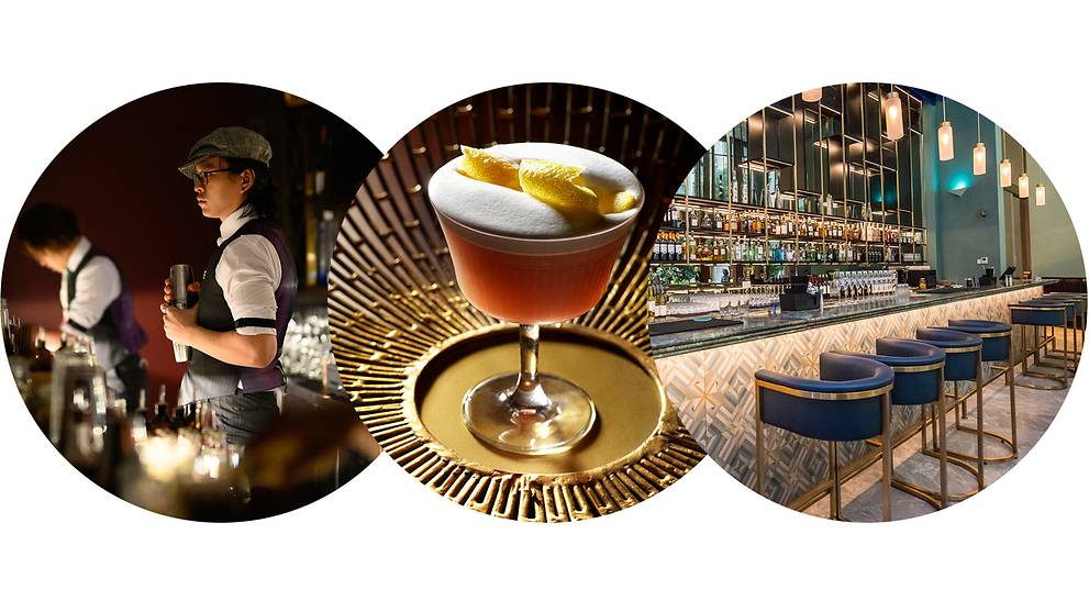 Gin Palaces, Cocktail Parlours And The Deliciously Boozy Reinvention Of Tras Street photo