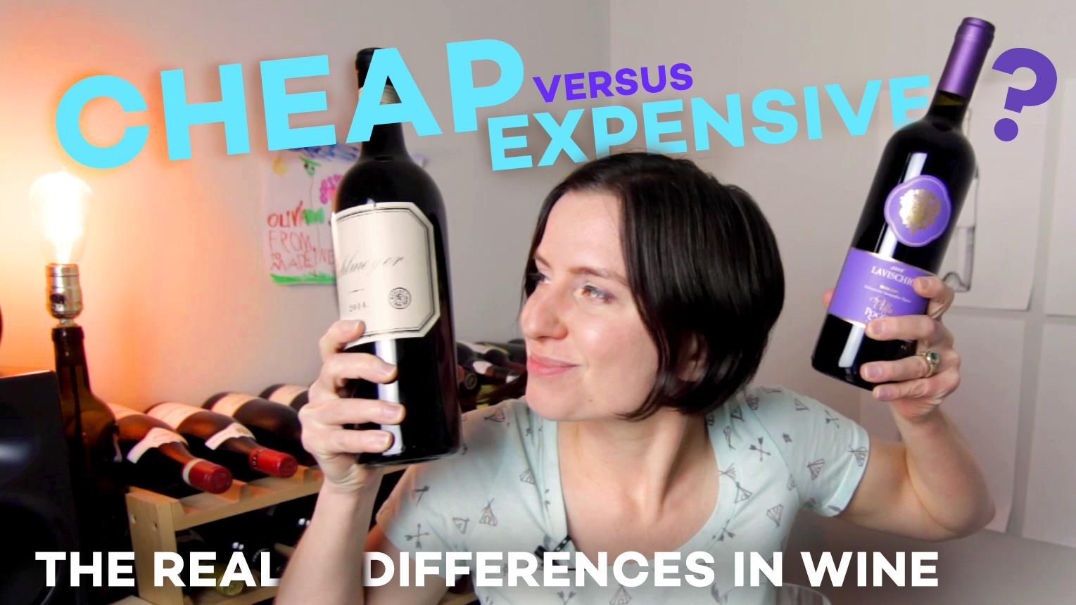 Cheap Vs Expensive Wine Taste Test ($7 Vs $75) photo