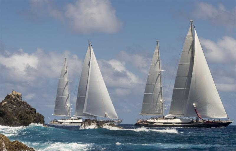 Perini Navi On Course For The 32nd Edition Of The St. Barths Bucket Regatta photo