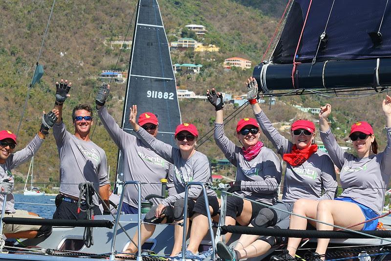 Light Air Challenges Fleet On Bvi Spring Regatta Day 1: Mount Gay Rum Race Day photo