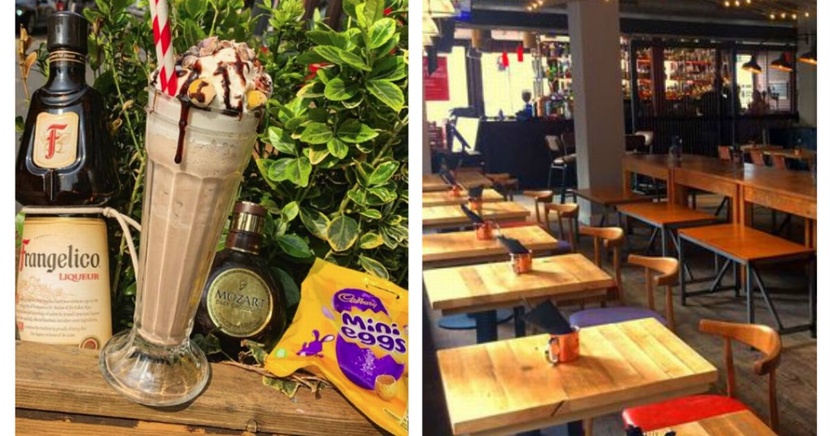 This Boozy Mini Eggs Milkshake Is The Stuff Of Easter Dreams photo