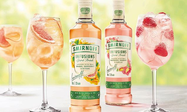 Smirnoff Launches New Range Of Fruit-flavoured Vodka photo