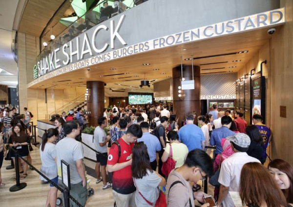 Shake Shack Officially Opens At Jewel Changi Airport, And The First Guy In Line Was There Since 4.30am, Singapore photo