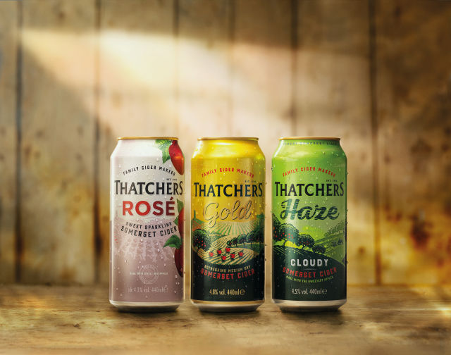 """Thatchers Cider Sees """"clear Opportunity"""" For Apple And Fruit Cider Growth photo"""
