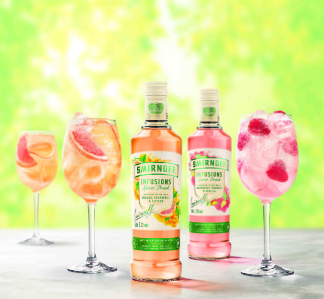 Smirnoff Taps Into Lower Alcohol Trend With New 'infusions' Range photo
