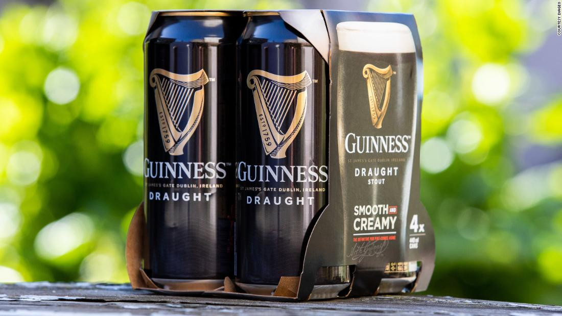 Guinness Will Stop Using Plastic In Beer Multipacks photo