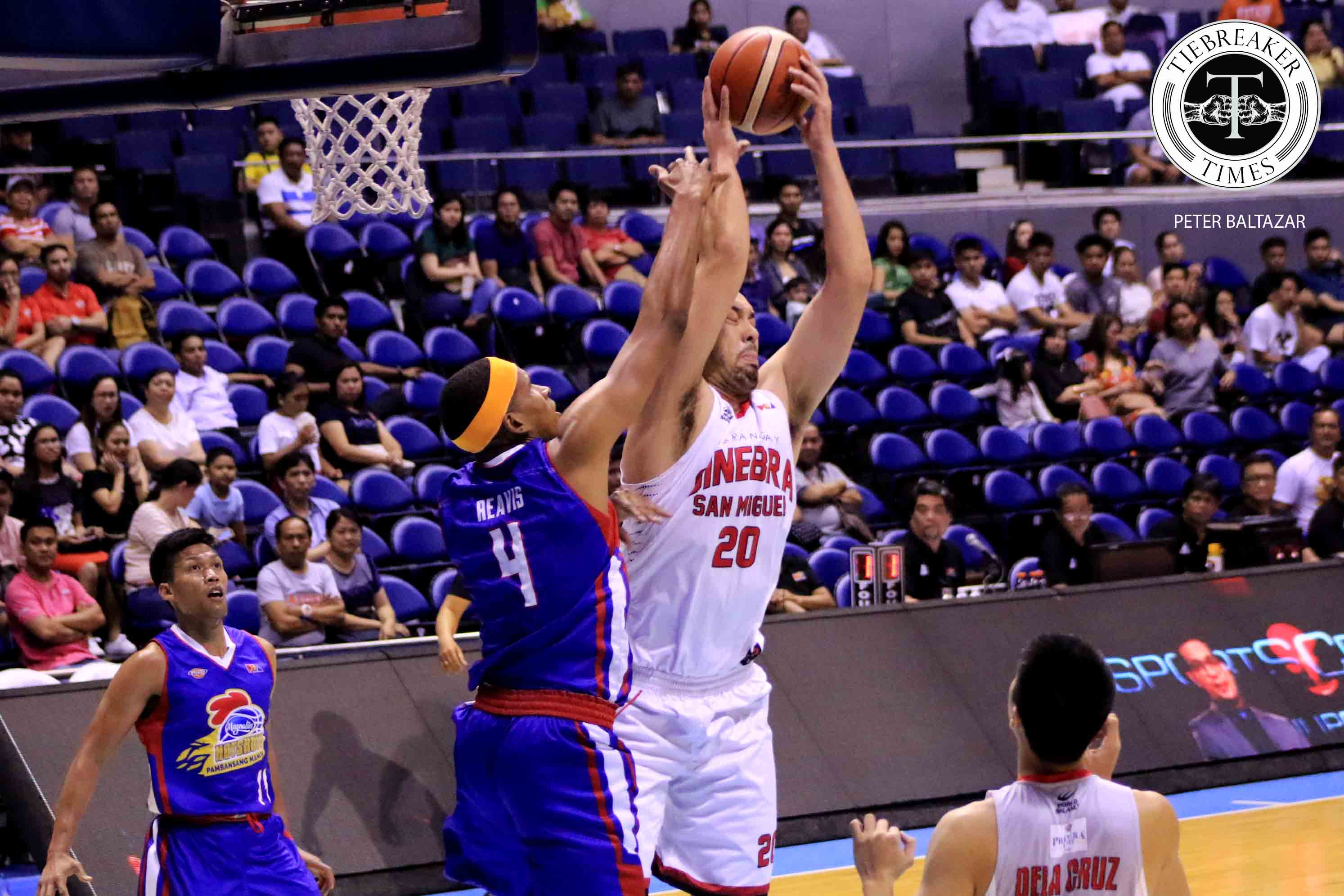 Greg Slaughter Laments Ginebra's 20 Turnovers In Blowout Loss To Magnolia photo