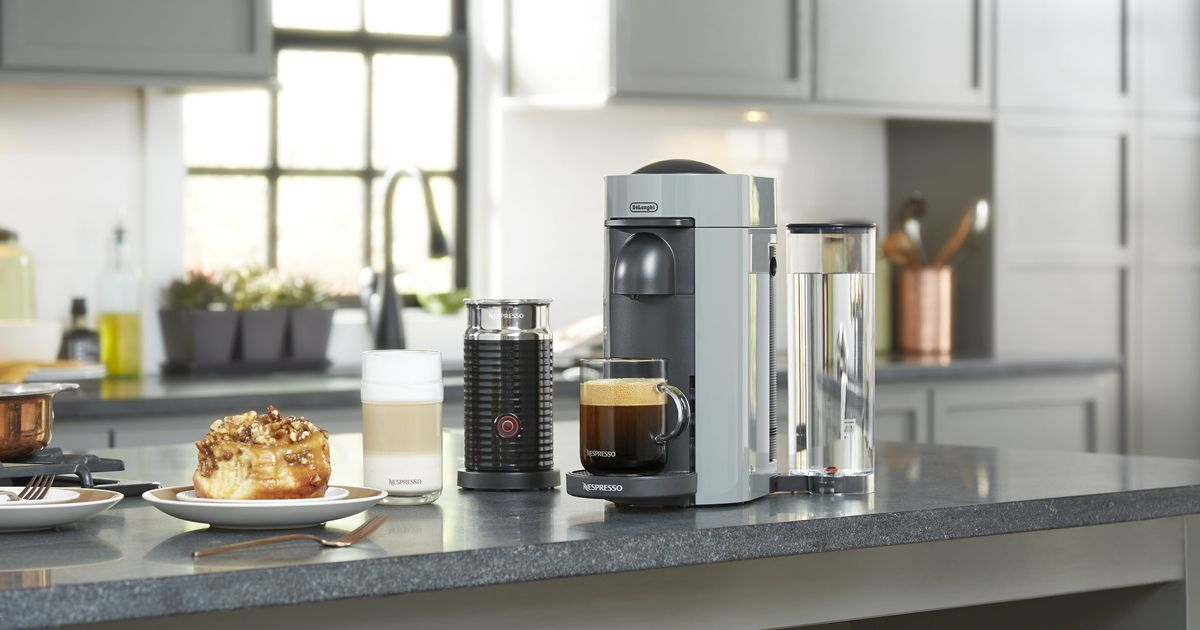 Nespresso Vertuoplus Coffee And Espresso Machines Are Up To $78 Off At Amazon photo