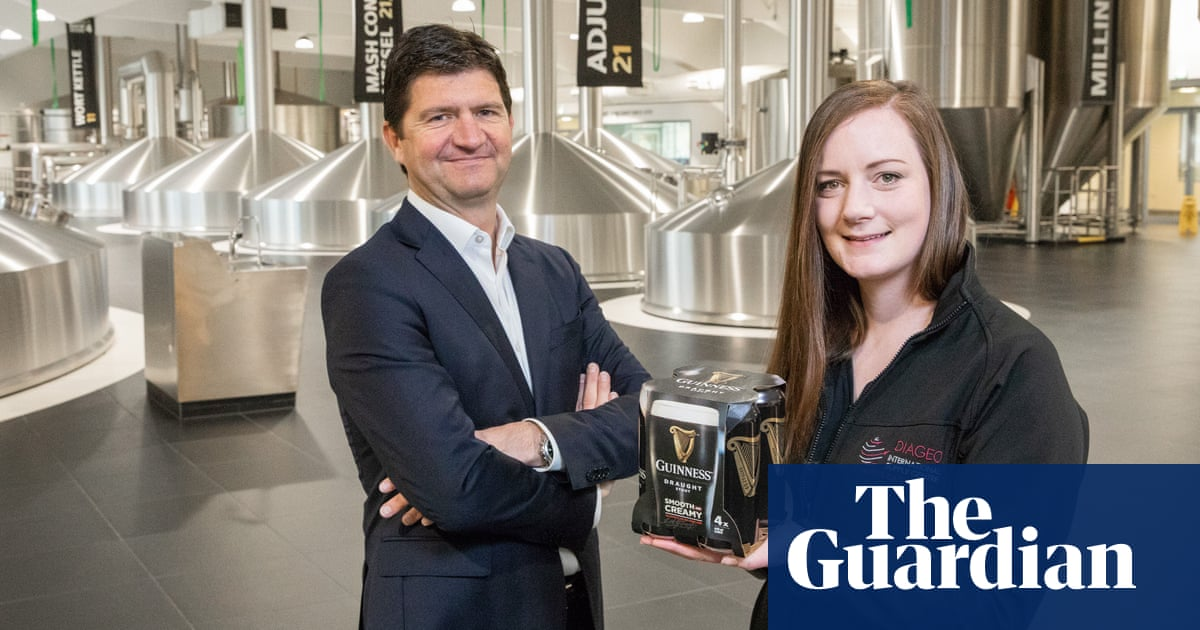 Diageo To Remove Plastic From Guinness Multipacks photo