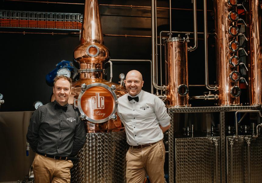 Prohibition Liquor Co Is Now Distilling In The Cbd photo