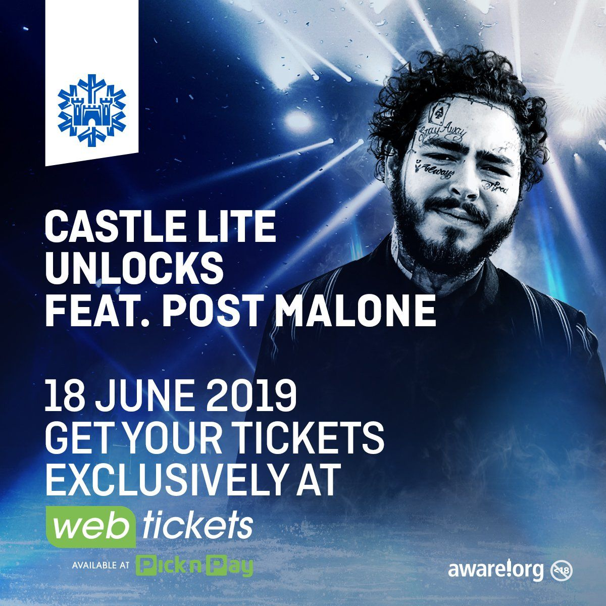 Post Malone To Headline Castle Lite Unlocks photo