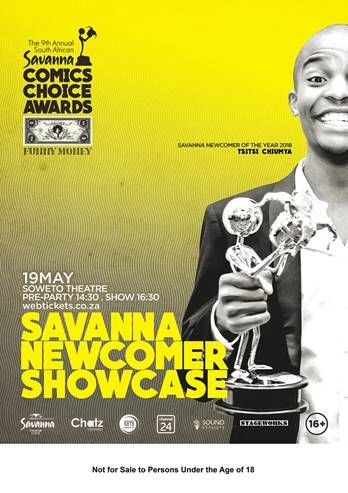 24 Upcoming Comedians To Show Off Comic Skills At Savanna Newcomer Showcase photo