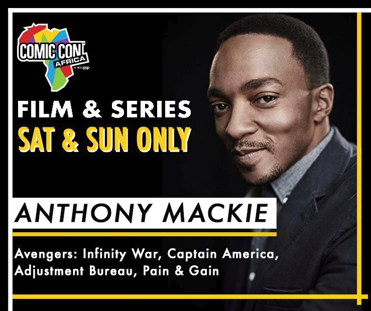 Avengers' Anthony Mackie To Appear At Comic Con Africa 2019 photo