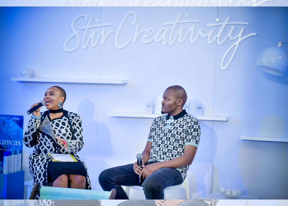 #stircreativity: Bombay Sapphire Announces Partnership With Sa Designer photo