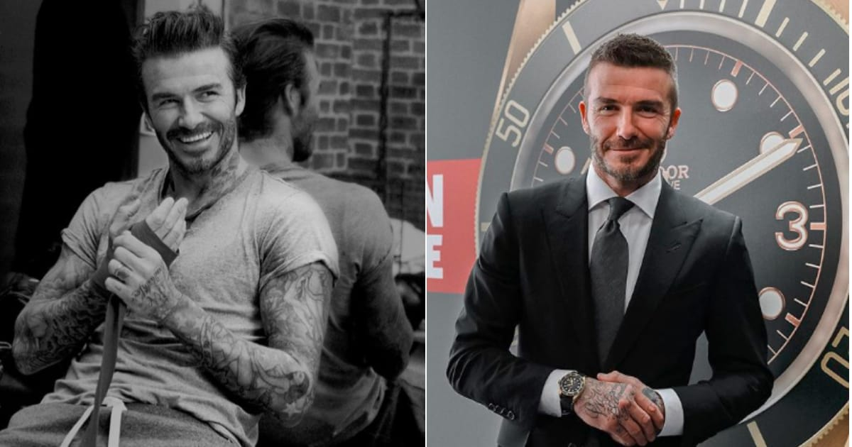 ?it?s Great To Be Back?: David Beckham Hits Jozi For Exclusive Event photo