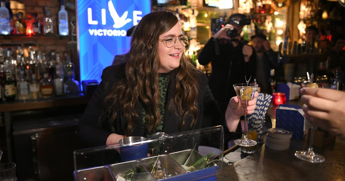 Aidy Bryant On Life's Simple Pleasures: Vodka-cranberries, Slippers, And . . . Hand Sanitizer? photo