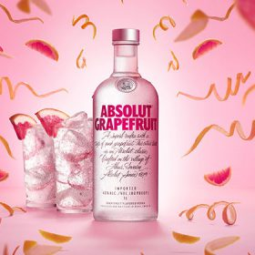 Absolut Grapefruit Launches In Travel Retail photo