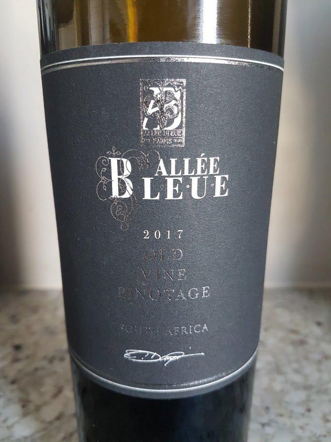 Allée Bleue Black Series Old Vine Pinotage 2017 photo