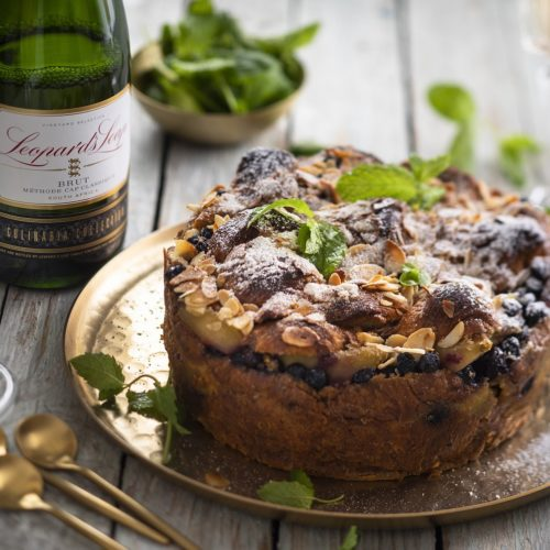 How To Bake A Croissant Cake photo