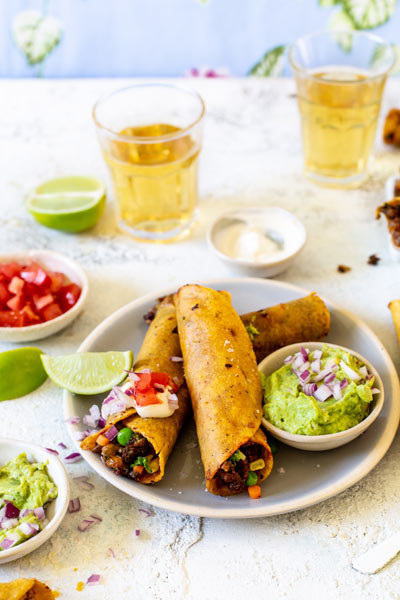 Beef And Vegetable Taquitos photo