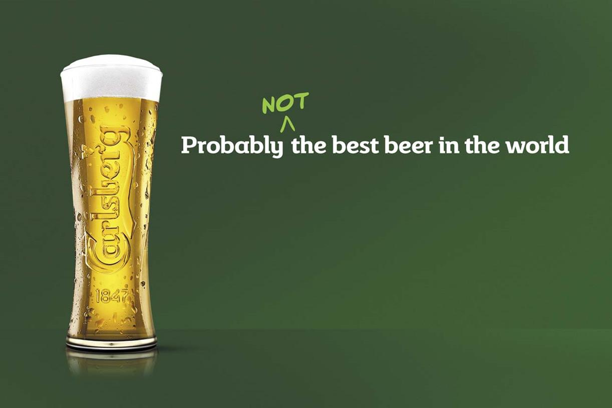 Will Carlsberg's Self-deprecating Strategy Pay Off? photo